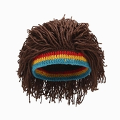 歐美保暖針織帽假髮帽子