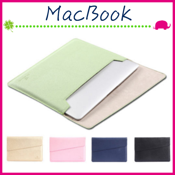 Apple MacBook Air/Pro/Retina 雅姿系列內膽包 吉瑪仕 荔枝紋信封套保護套 輕薄電腦包 PU筆電包