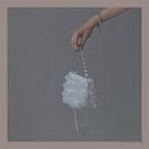 手提包女迷你珍珠鏈條水桶包後背包【小酒窩服飾】