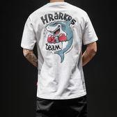 短袖男士T恤2018新款夏季學生圓領青年汗衫白色上衣韓版潮流男裝 依凡卡時尚