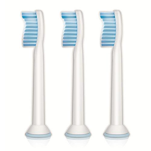 飛利浦PHILIPS Sonicare Sensitive敏感牙齒專用刷頭(標準型3入) HX6053