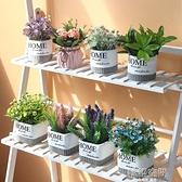 北歐客廳仿真植物綠植擺件假花ins風裝飾小盆栽桌面迷你擺設創意