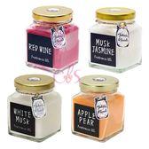 John's Blend 室內居家香氛膏 蘋果梨/紅酒香/白麝香/白茉莉 135g 四款供選 ☆艾莉莎ELS☆