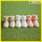 ★薄款0-3-6個月新生兒女寶寶蕾絲花邊...