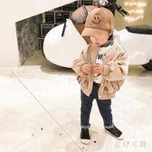中大尺碼女童韓版外套薄款長袖上衣卡其童裝洋氣夾克sd1923【衣好月圓】