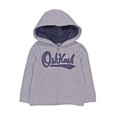 OSHKOSH 純棉薄連帽外套 灰色 | 男寶寶衣服(嬰幼兒/小孩/baby)