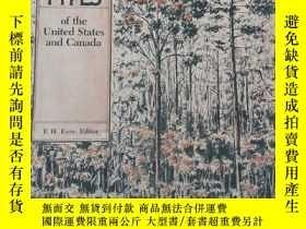 二手書博民逛書店Forest罕見Cover Types of the United States and Canada【附地圖】奇