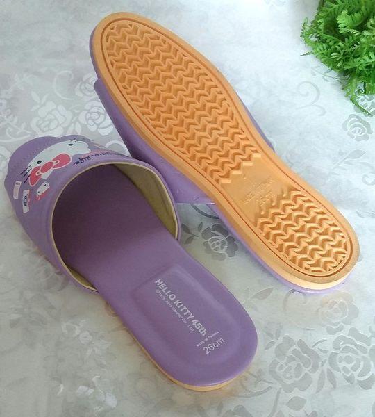 (e鞋院)HELLO KITTY室內皮拖鞋 親子拖