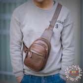 時尚簡約胸包男新款潮流青年正韓百搭迷你小號單肩手機斜跨包