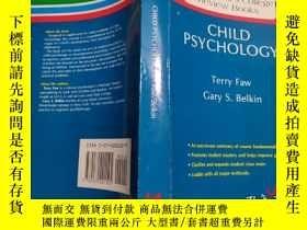 二手書博民逛書店Child罕見PsychologyY26321 terry fa