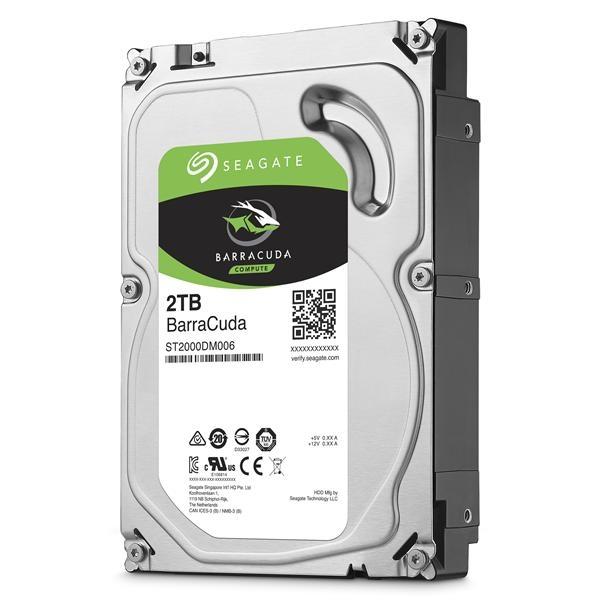 Seagate新梭魚BarraCuda 2TB 3.5吋 7200轉桌上型硬碟 (ST2000DM008)