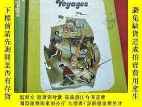二手書博民逛書店voyages罕見航行 多幅彩圖Y207309