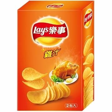 Lay's 樂事經濟盒 - 雞汁 (160g/盒)【合迷雅好物超級商城】