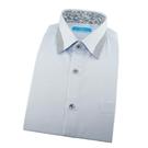 【南紡購物中心】【襯衫工房】長袖襯衫-極淺藍色細條紋