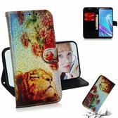 3D彩繪 華碩 Asus Zenfone Max Pro (M1) ZB601KL 手機殼 手機皮套 全包邊 彩繪皮套 保護套 閃亮殼