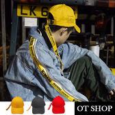 OT SHOP帽子‧韓版素色簡約長尾‧老帽棒球帽鴨舌帽‧韓版歐美明星穿搭配件‧現貨3色‧C5382