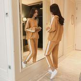 哺乳套裝 哺乳衣秋季外出時尚辣媽款好康推薦新款產后期喂奶衣服潮媽秋冬套裝女