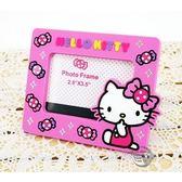 三麗鷗凱蒂貓 Hello Kitty 造型軟膠磁鐵相框 相簿 立可拍 相機