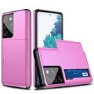 SamSung N10/N9/N8保護套 滑蓋插卡Galaxy S21 Ultra手機套 三星二合一note20手機殼 三星S20/S10/S9/S8 Plus保護殼