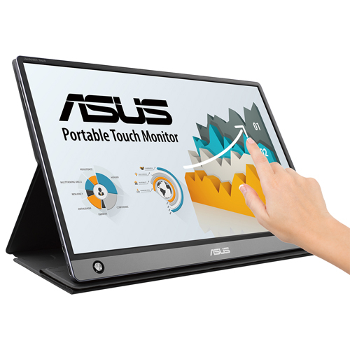 ASUS 華碩 ZenScreen Touch MB16AMT Full HD IPS 15.6型 可攜式10點觸控螢幕