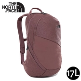 【The North Face 17L 女單日休閒包《紅褐》】3KY9/雙肩背包/通勤背包/旅行背包