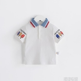男童短袖上衣-齊齊熊男童女童短袖T恤2020年夏季新款寶寶卡通POLO衫簡約不單調 喵喵物語