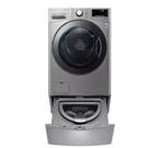 (送陶板屋餐卷5張)回函贈 LG樂金18公斤滾筒蒸洗脫烘+2.5公斤溫水下層洗衣機WD-S18VCM+WT-D250HV