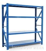 貨架倉儲置物架多層展示架多功能儲貨物鐵架子倉庫家用自由組合 新品全館85折 YTL