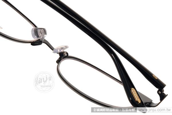 Go-Getter 光學眼鏡 GO3009 C01 (黑-銅) 簡約熱銷百搭半框 # 金橘眼鏡