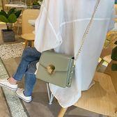 法國小眾包包洋氣鏈條包時尚高級感女包新款2019百搭ins斜挎小包 米娜小鋪