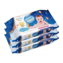*babygo*康貝Combi 海洋深層水嬰兒柔濕紙巾20抽隨手包(3入)*新包裝