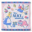 愛麗絲夢遊仙境 造型手帕 小方巾 100%棉質 愛麗絲款 Alice 該該貝比日本精品 ☆