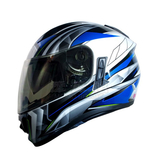 GP5 GP-5 723全罩 (隱藏式墨片) 安全帽 《 風速 》白藍銀 【內有其他顏色】