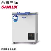 雙重送【SANLUX三洋】100公升超低溫-60°C冷凍櫃TFS-100G