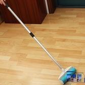 可水洗粘毛滾筒加長手柄伸縮桿寵物毛髮地板清潔地毯除塵器【英賽德3C數碼館】