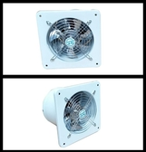 靜音排風扇墻4寸窗式衛生間換氣換風扇廚房排氣扇管道抽風機100MM  汪喵百貨