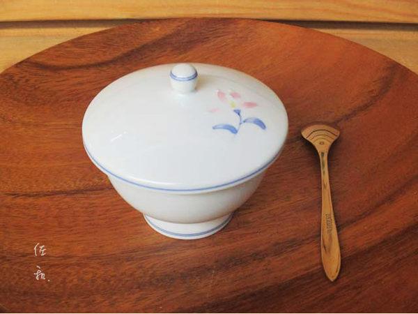 ~佐和陶瓷餐具~【XL05031-32有田燒粉花煎茶杯-日本製】/ 茶杯 蓋杯 茶碗蒸 /