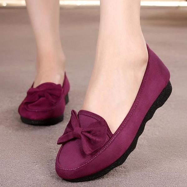老北京布鞋女平跟 大碼女鞋41-43 女士媽媽軟底40-42中年單鞋