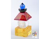 五輪塔 佛眼 寶篋印五行水晶塔(高10cm) 【十方佛教文物】