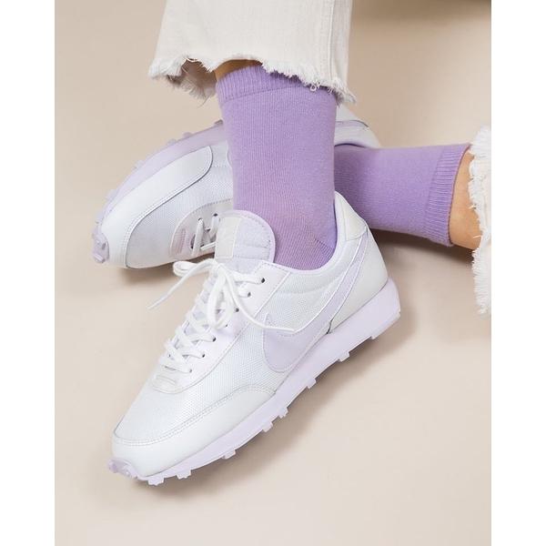 Nike Daybreak White and Barely Grape 淡紫 女款 復古 CU3452-100