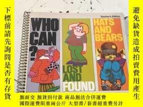 二手書博民逛書店Who罕見Can Lost and Found Hats and