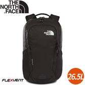 【The North Face 26.5L VAULT 後背包《黑》】3KV9/電腦包/書包/15吋筆電包/後背包