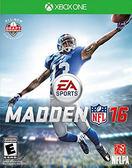 X1 Madden NFL 16 勁爆美式足球 16(美版代購)