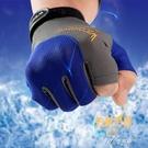 釣魚手套男防曬路亞海釣磯釣飛磕專業三指防割防滑防刺防水 【快速出貨】