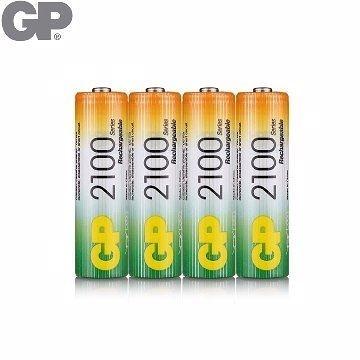 {光華成功NO.1}GP低自放鎳氫充電池3號2100mAh (4入)(BAT-GPB-2100AA-C4)  喔!看呢來