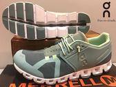 ON 瑞士品牌 超輕量(165克) 跑鞋/運動鞋 透氣快乾 ~ 跳躍藍(女)★買就送魔術棉巾★