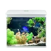 水族箱 佳璐魚缸水族箱小型玻璃免換水迷你金魚缸生態桌面客 晶彩 99免運LX