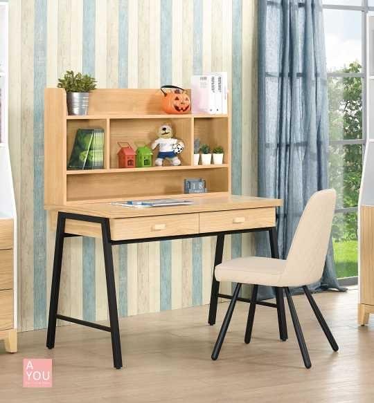 溫妮3.7尺書桌全組大特價8400元(大台北免運費)【阿玉的家2019】