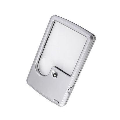 《閱讀良伴》LED名片型3+6倍放大鏡