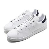 adidas 休閒鞋 Stan Smith 白 藍 小白鞋 男鞋 三葉草 愛迪達 基本款 情侶鞋【ACS】 FX5501